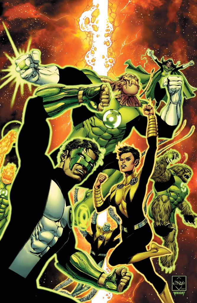 Hal Jordan And The Green Lantern Corps #21 (Cover A Ethan Van Sciver)