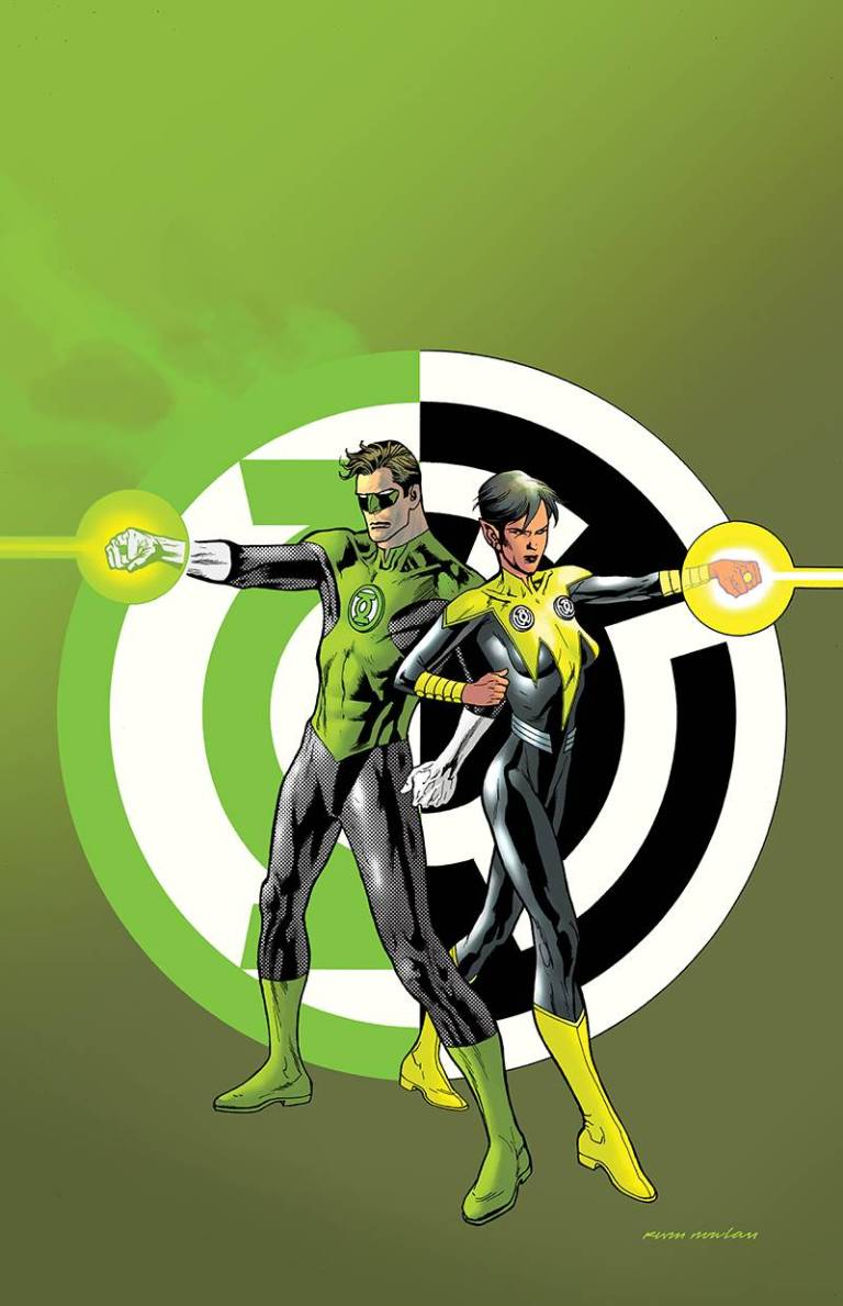 Hal Jordan And The Green Lantern Corps #22 (Cover B Kevin Nowlan)