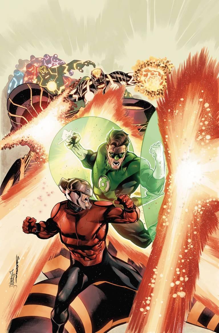 Hal Jordan And The Green Lantern Corps #26 (Cover A Rafael Sandoval & Jordi Tarragona)