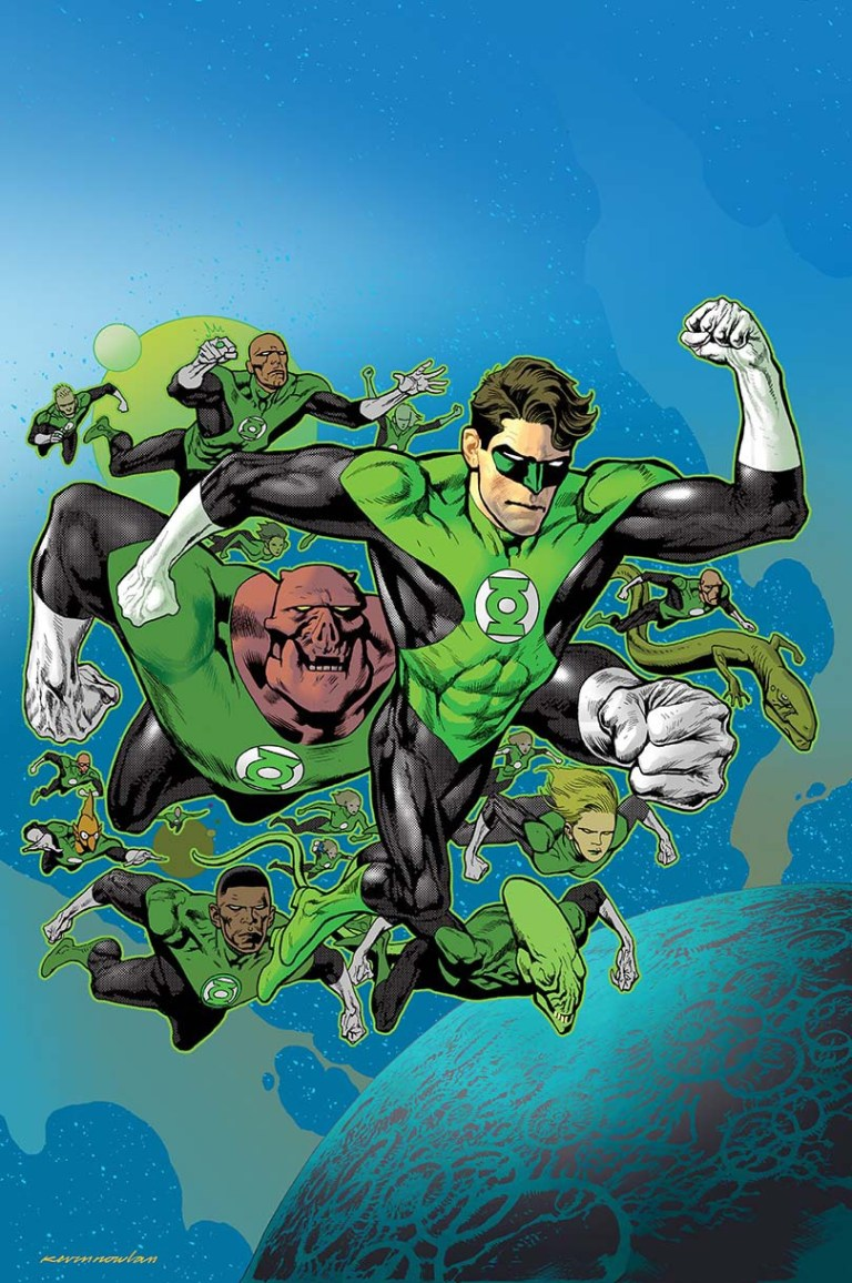 Hal Jordan And The Green Lantern Corps #3 (Cover B Kevin Nowlan)