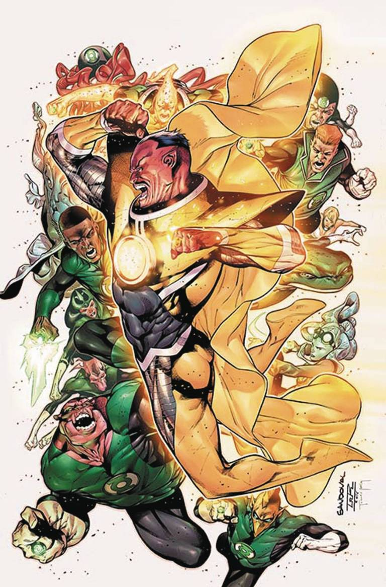 Hal Jordan And The Green Lantern Corps #7 (Cover A Rafael Sandoval & Jordi Tarragona)
