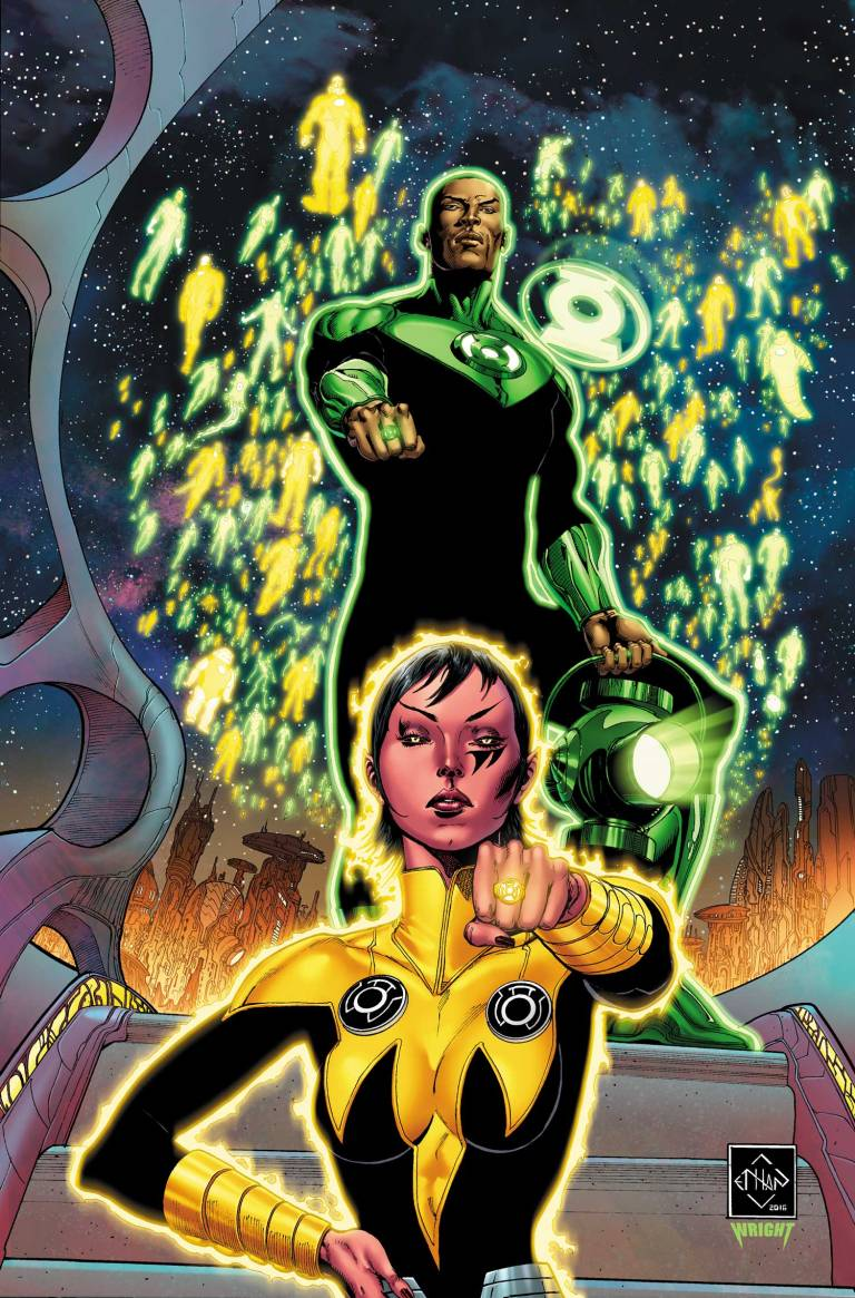 Hal Jordan And The Green Lantern Corps #8 (Cover A Ethan Van Sciver)