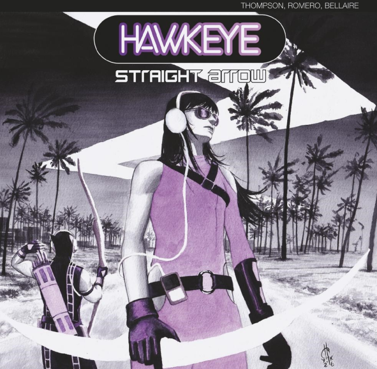Hawkeye #1 (Marco Rudy Hip-Hop Variant Cover)