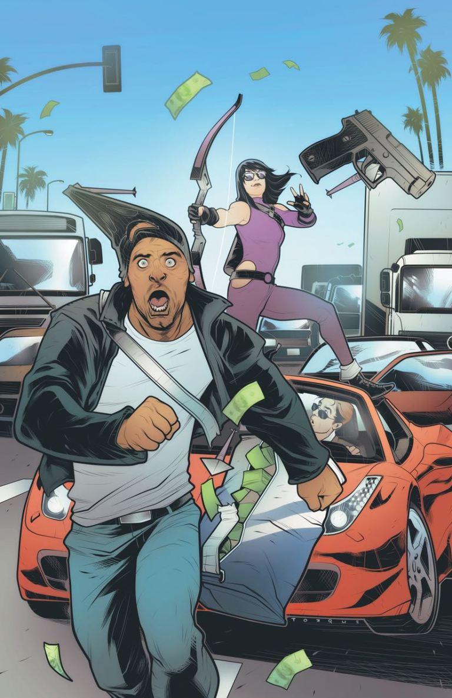 Hawkeye #3 (Elizabeth Torque Variant Cover)
