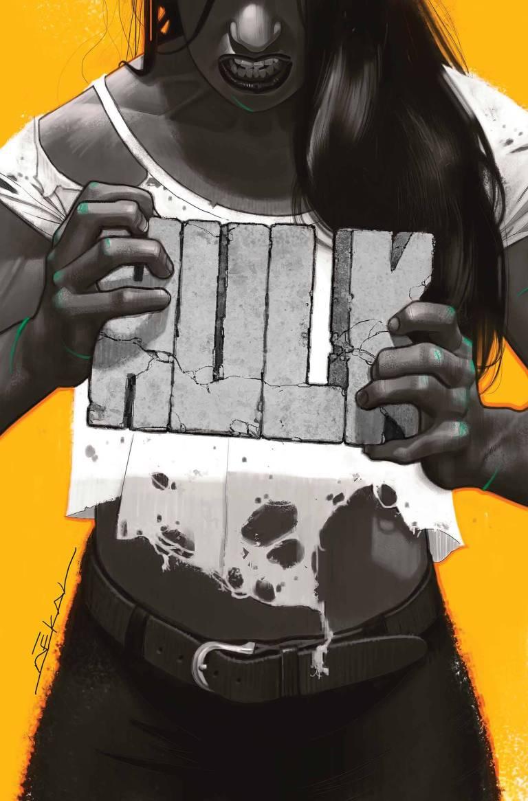 Hulk #1 (Jeff Dekal Regular Cover)