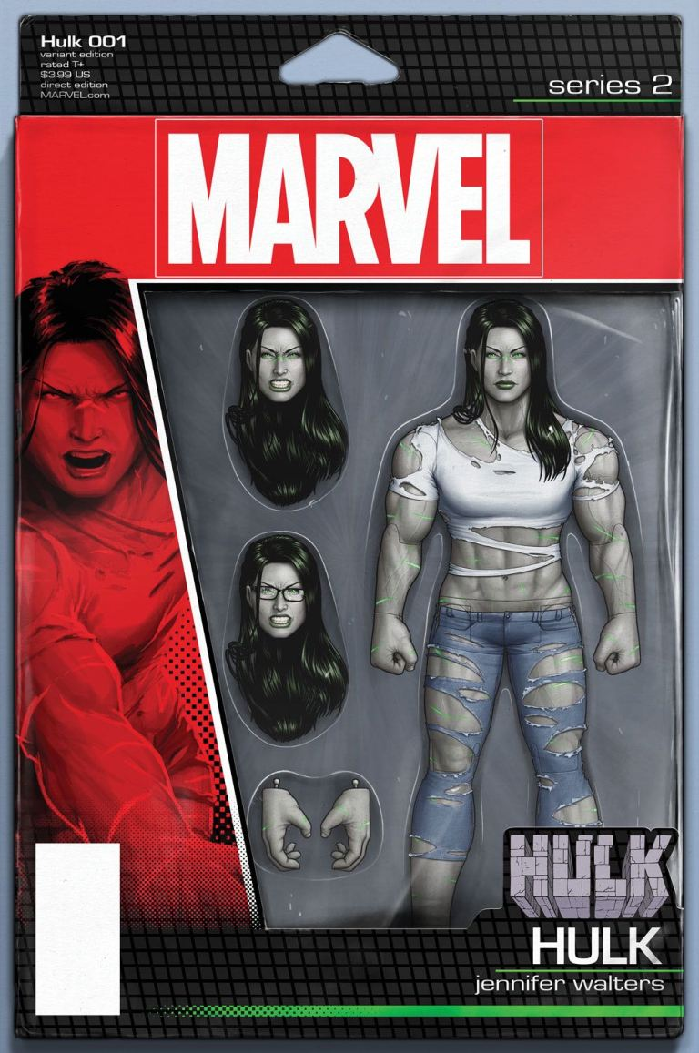 Hulk #1 (John Tyler Christopher Action Figure Variant Cover)