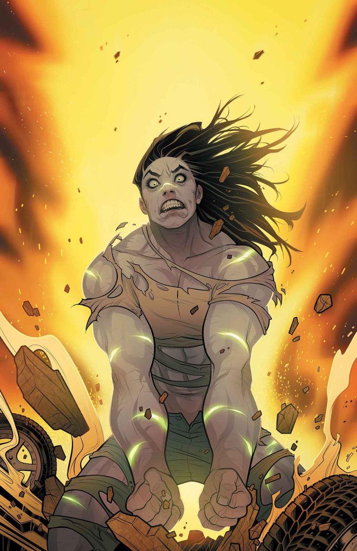 Hulk #2 (Elizabeth Torque Variant Cover)