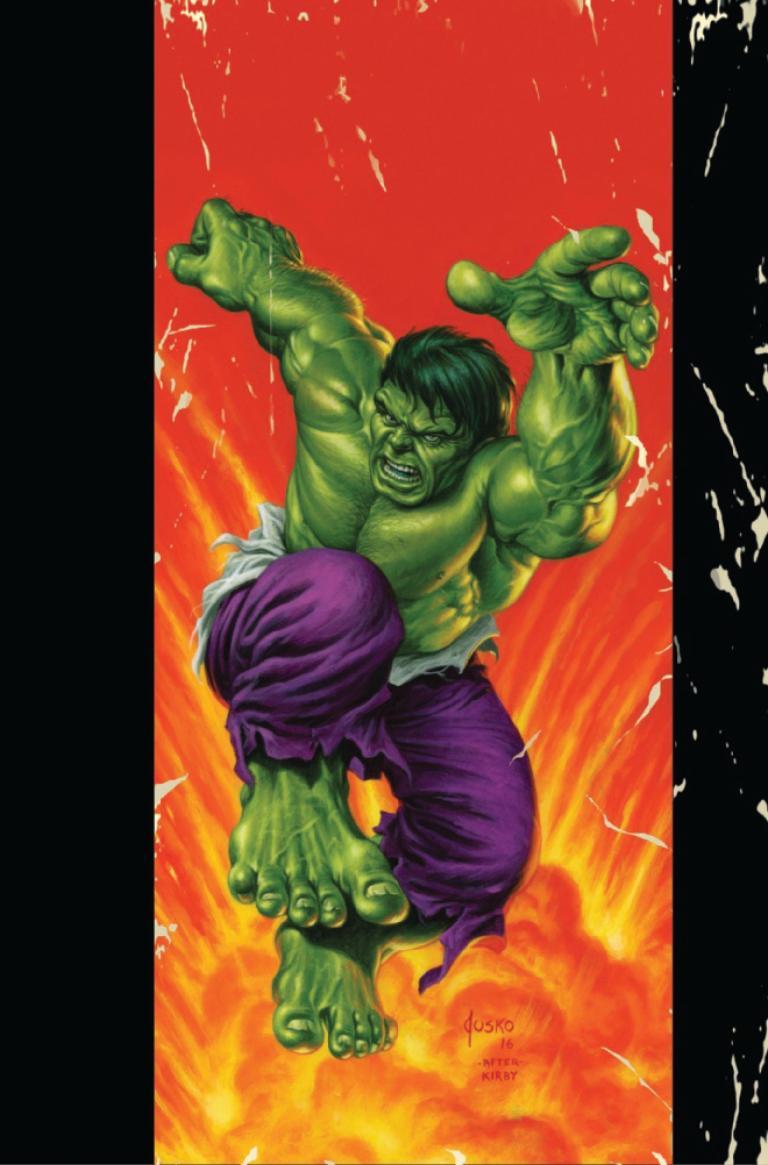 Hulk #3 (Joe Jusko Corner Box Variant Cover)