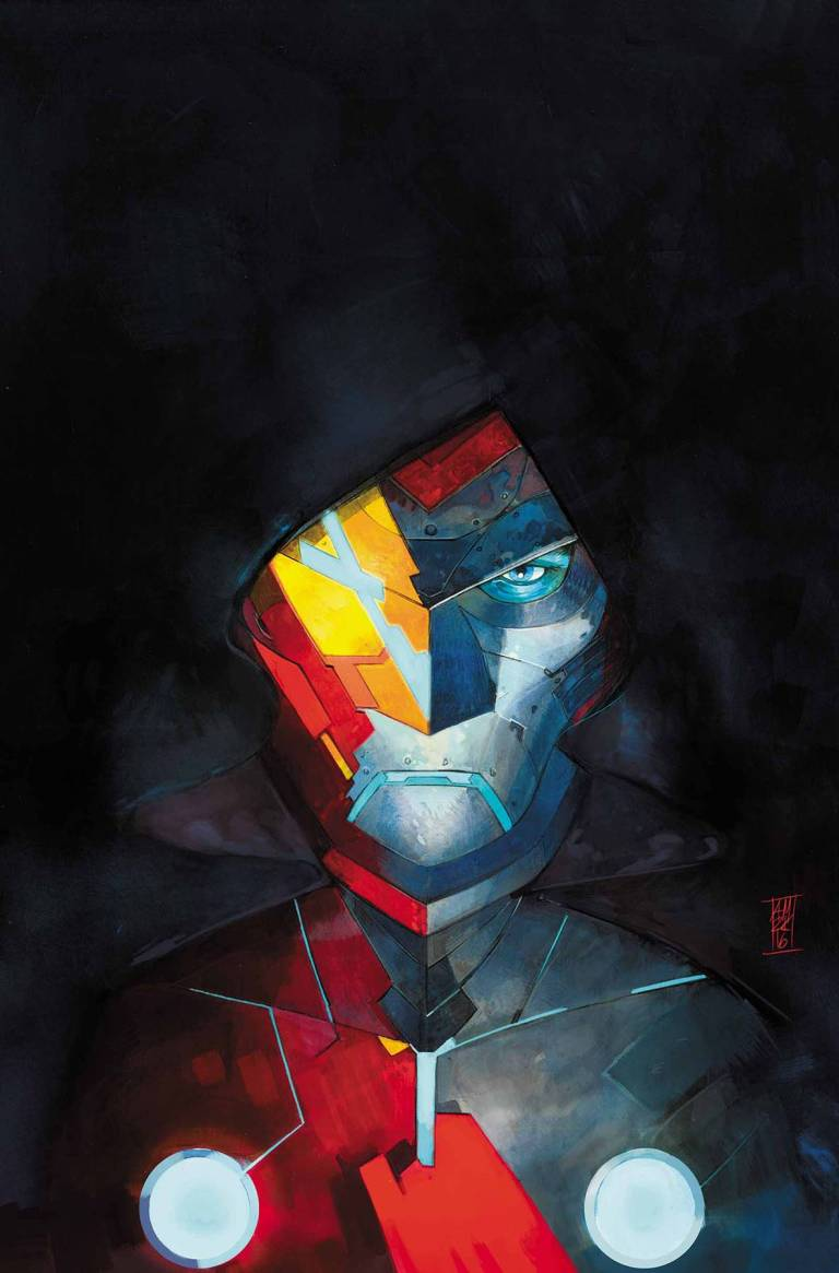 Infamous Iron Man #1 (Alex Maleev Regular Cover)