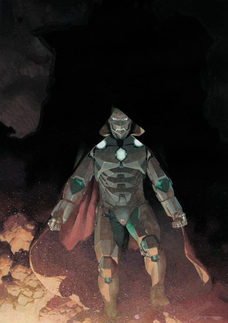 Infamous Iron Man #1 (Esad Ribic Variant Cover)