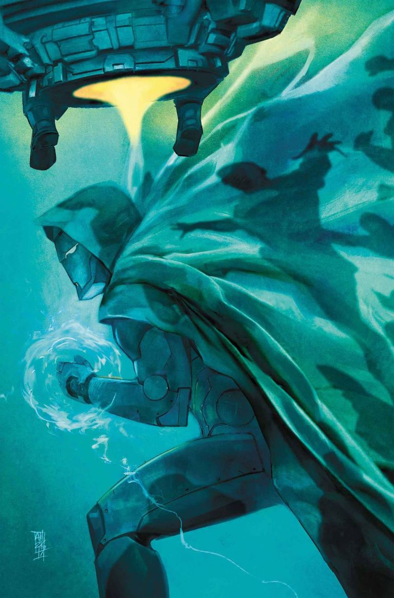 Infamous Iron Man #10 (Alex Maleev Cover)