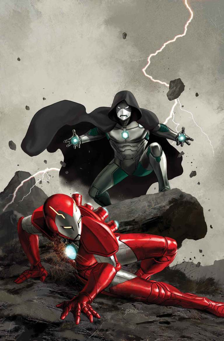 Infamous Iron Man #3 (Steve Epting Variant Cover)