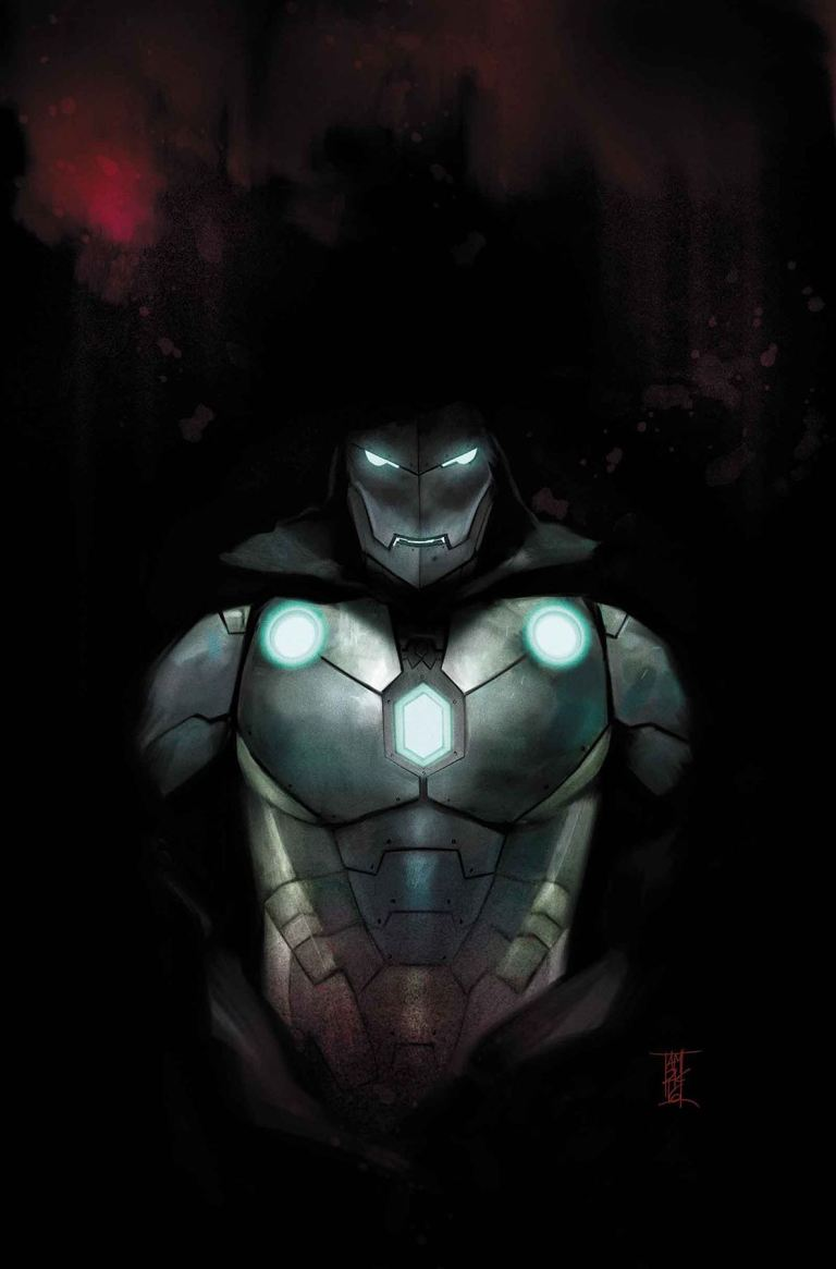 Infamous Iron Man #4 (Alex Maleev Cover)