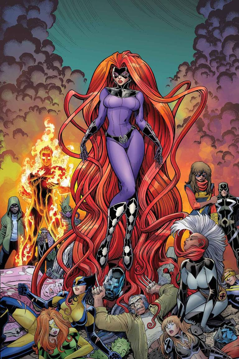 Inhumans Vs X-Men #2 (Arthur Adams Variant Cover)