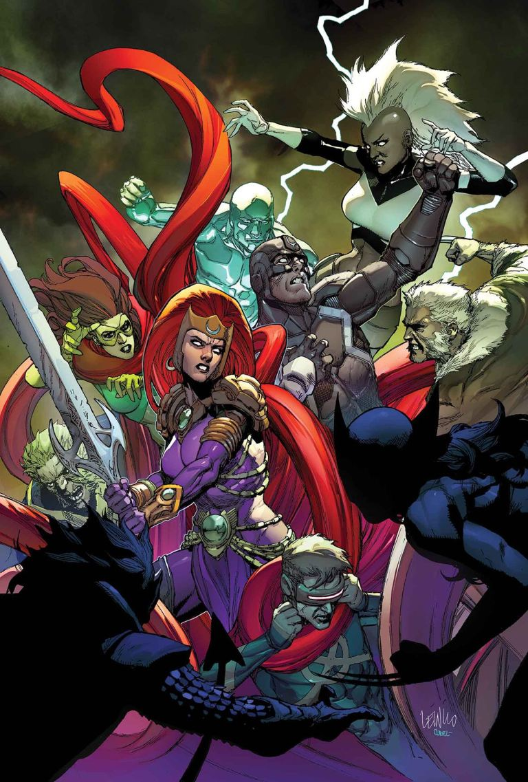Inhumans Vs X-Men #2 (Leinil Francis Yu Regular Cover)