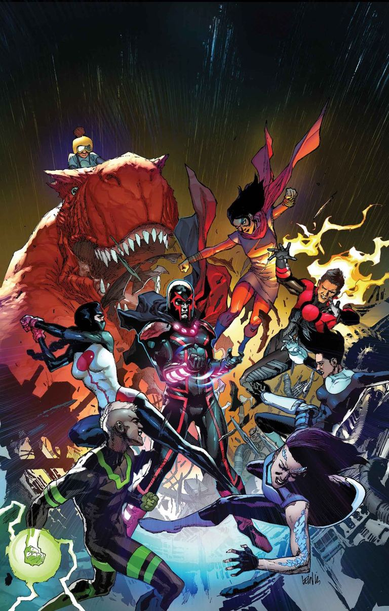 Inhumans Vs X-Men #3 (Leinil Francis Yu Regular Cover)