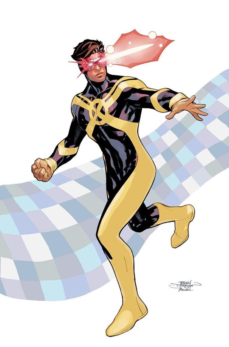 Inhumans Vs X-Men #4 (Terry Dodson X-Men Variant Cover)
