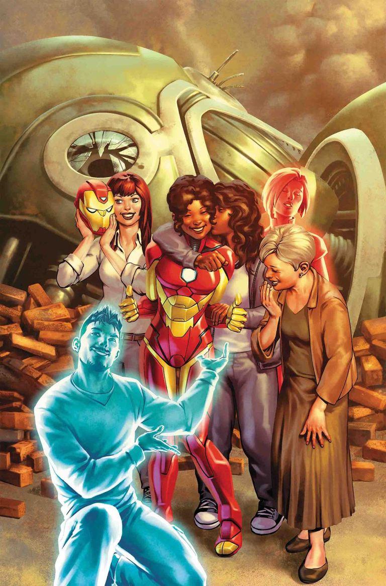 Invincible Iron Man #11 (Cover A Jesus Saiz)