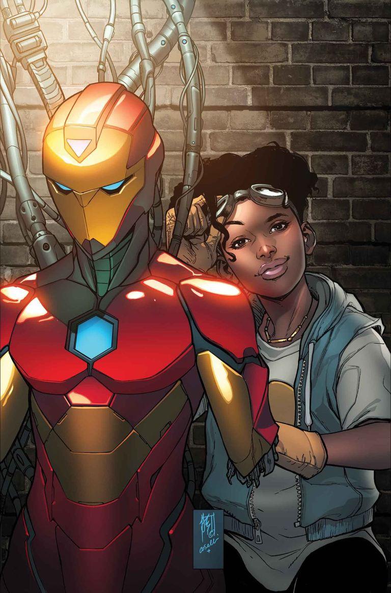 Invincible Iron Man #4 (Stefano Caselli Regular Cover)