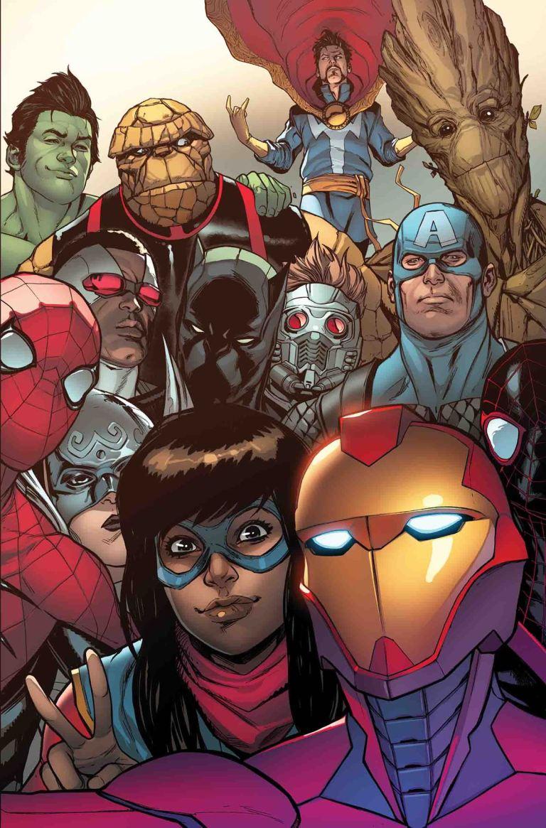 Invincible Iron Man #5 (Stefano Caselli Regular Cover)