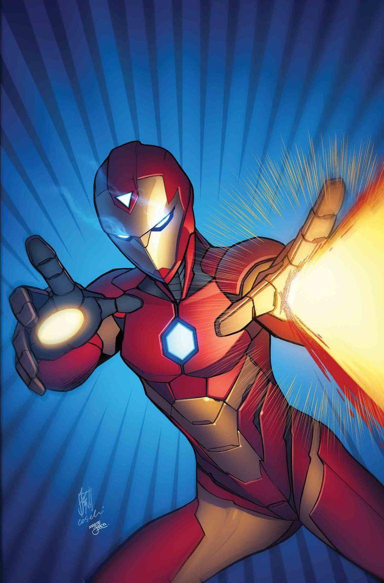Invincible Iron Man #6 (Cover A Stefano Caselli)