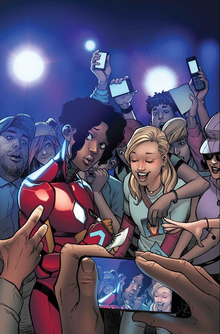 Invincible Iron Man #7 (Stefano Caselli Cover)