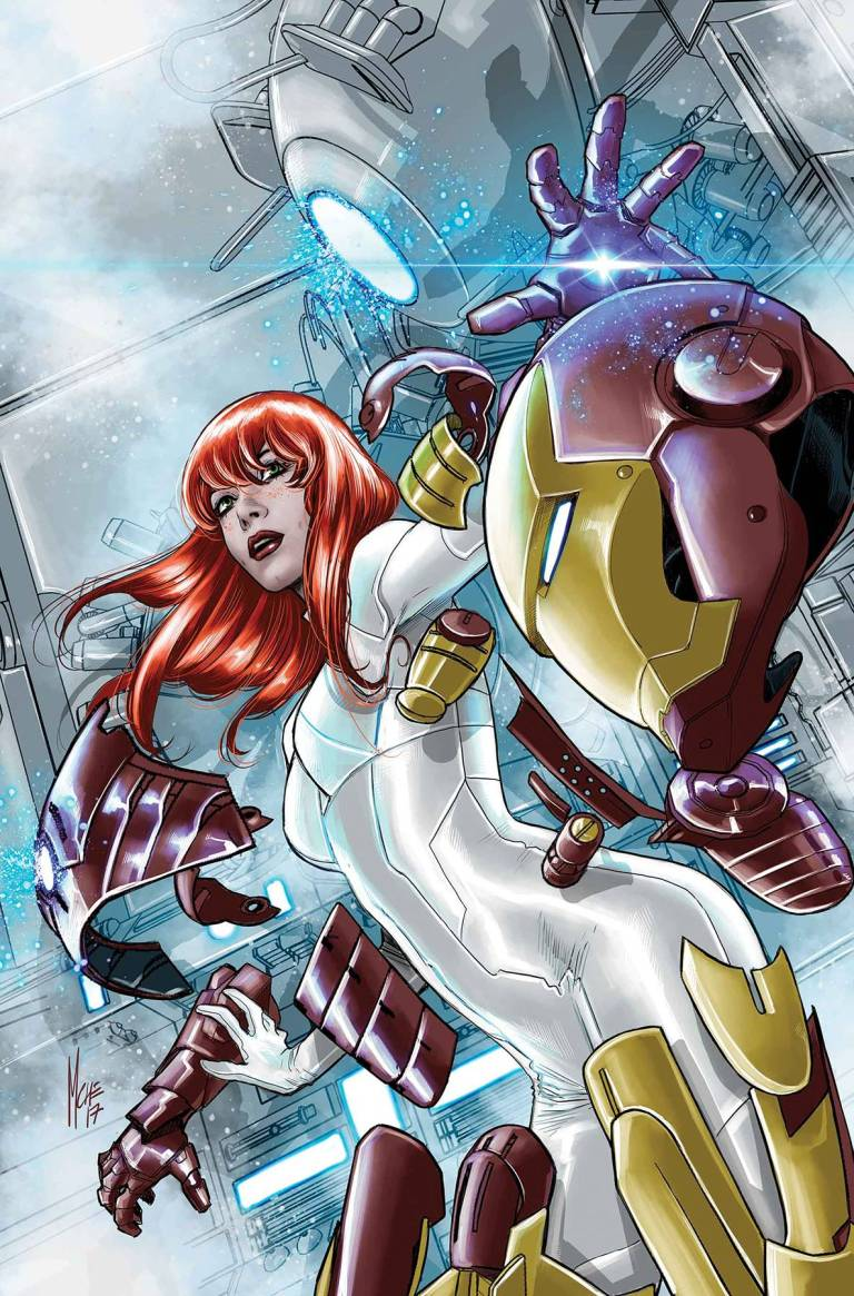 Invincible Iron Man #8 (Cover B Marco Checchetto Mary Jane Variant)