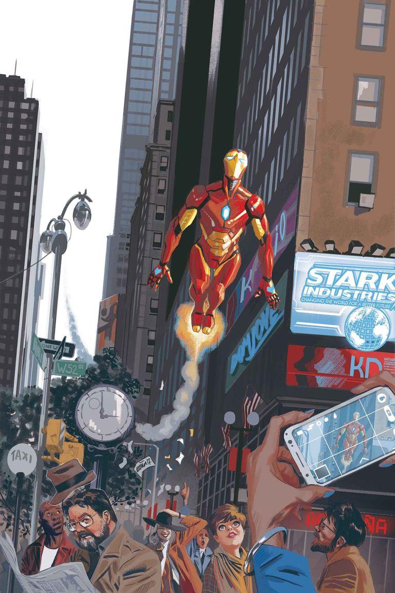 Invincible Iron Man #9 (Cover A Daniel Acuna)