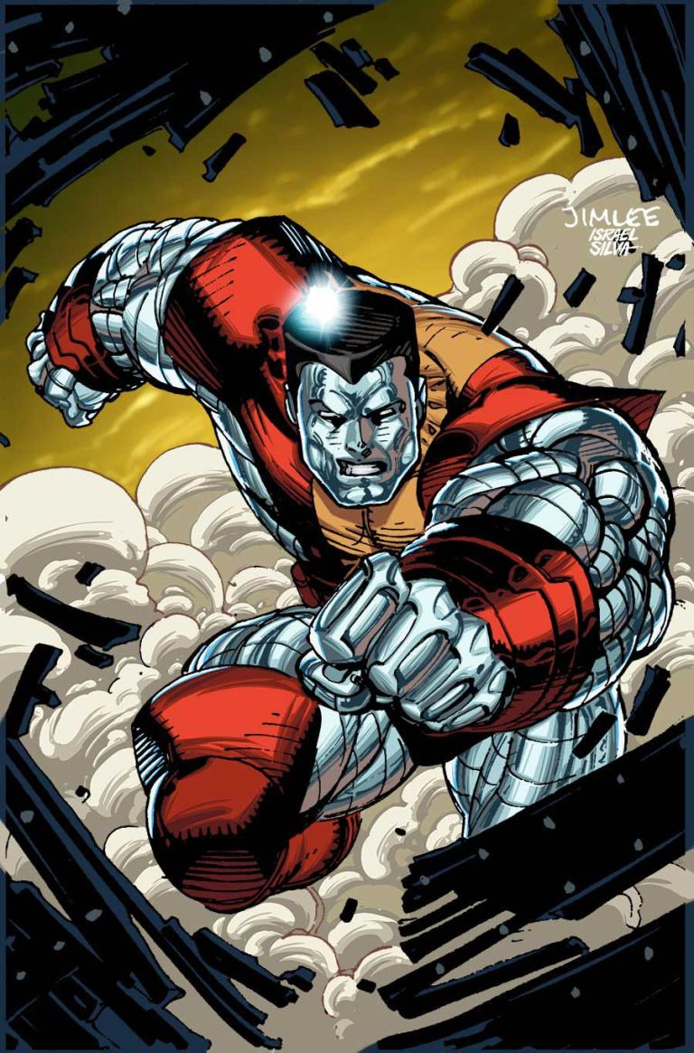 Invincible Iron Man #9 (Cover B Jim Lee X-Men Trading Card Variant)