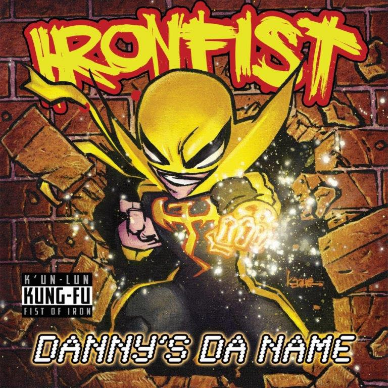 Iron Fist #1 (Kaare Andrews Hip-Hop Variant Cover)