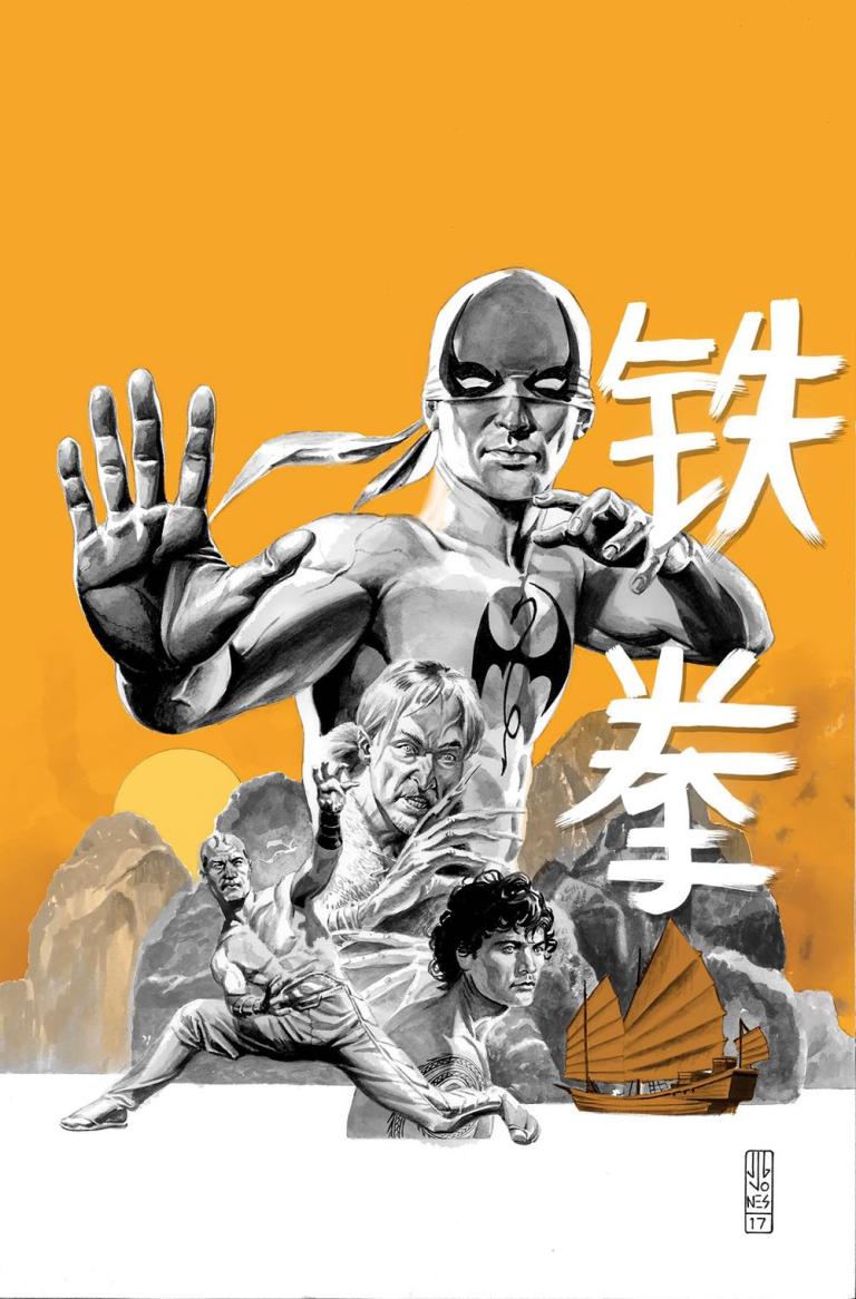 Iron Fist #3 (Cover C J.G. Jones)