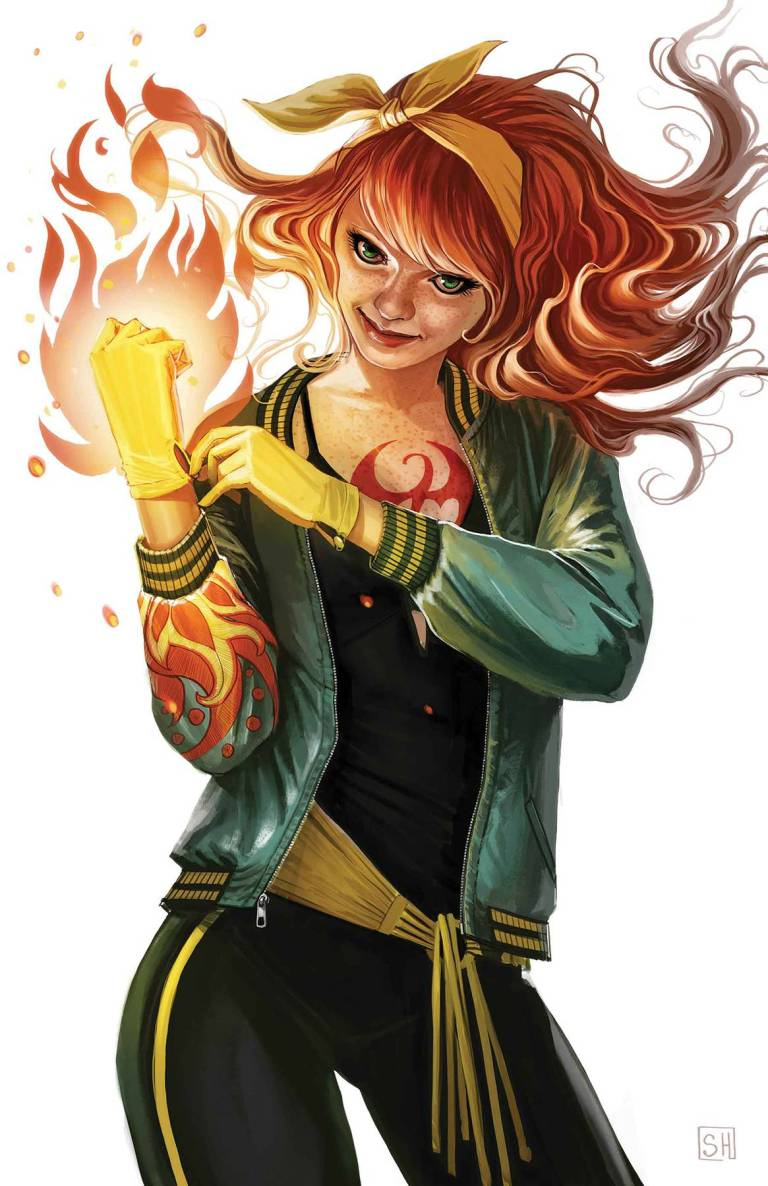 Iron Fist #4 (Cover B Stephanie Hans Mary Jane Variant)
