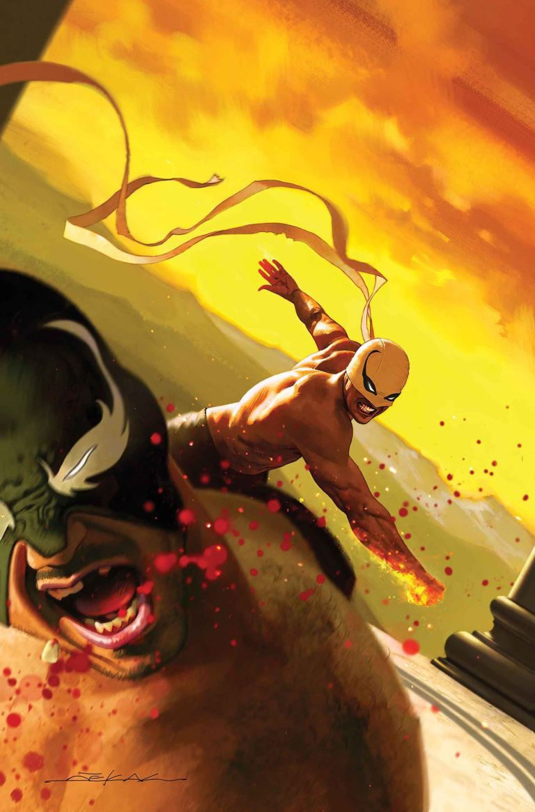 Iron Fist #5 (Cover A Jeff Dekal)