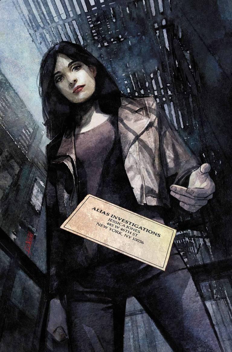 Jessica Jones #1 (Alex Maleev Variant Cover)