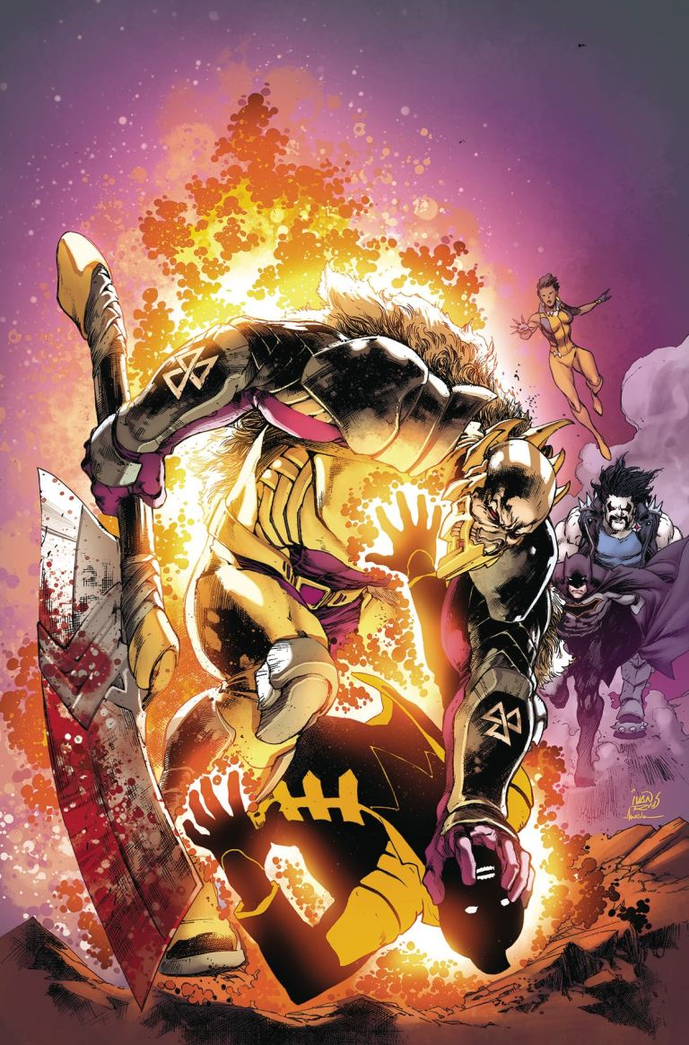 Justice League Of America #10 (Cover A Ivan Reis)