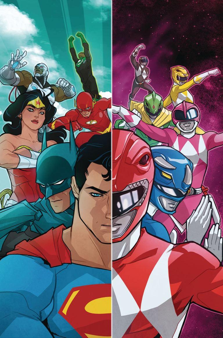 Justice League Power Rangers #1 (Cover A Karl Kerschl)
