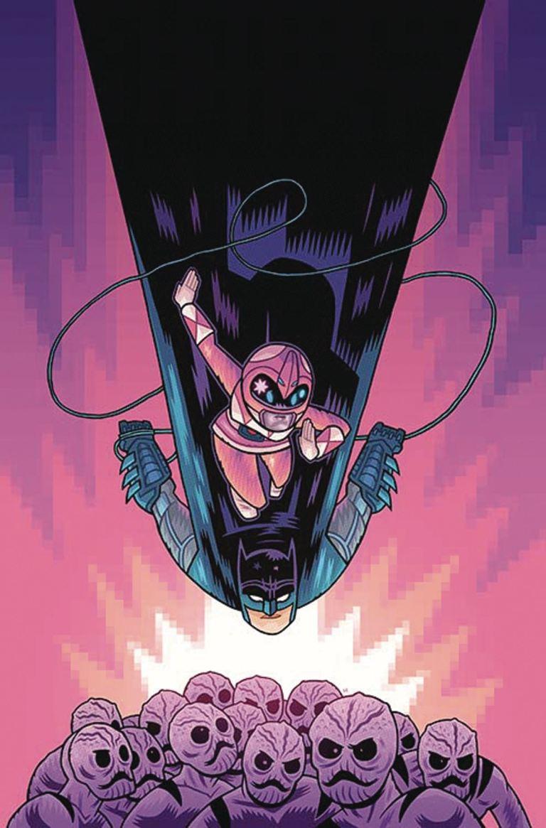 Justice League Power Rangers #1 (Cover B Dan Hipp)
