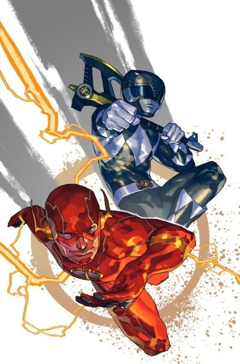 Justice League Power Rangers #1 (Cover D Yasmine Putri)