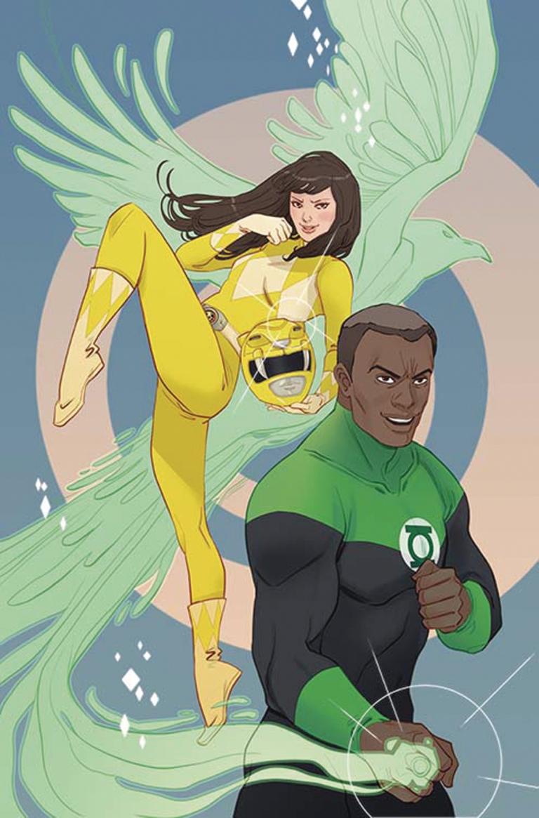 Justice League Power Rangers #1 (Cover E Marguerite Sauvage)