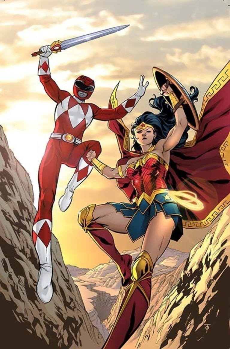 Justice League Power Rangers #1 (Cover G Marcus To)
