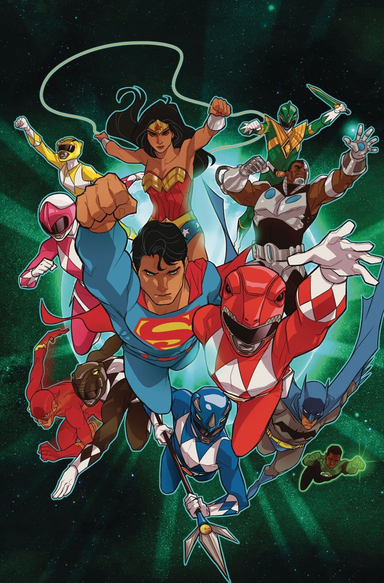 Justice League Power Rangers #2 (Karl Kerschl Cover)