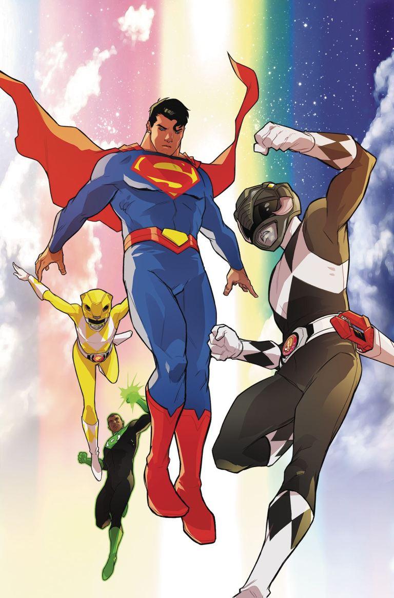 Justice League Power Rangers #5 (Karl Kerschl Cover)