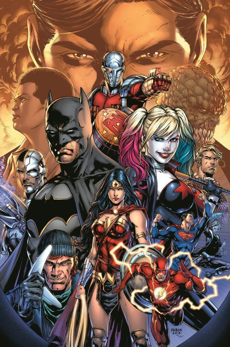 Justice League Vs Suicide Squad #1 (Cover A Jason Fabok)