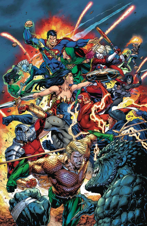 Justice League Vs Suicide Squad #3 (Cover A Ardian Syaf)