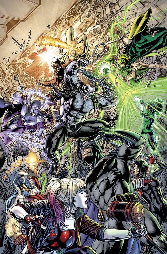 Justice League Vs Suicide Squad #4 (Cover A Fernando Pasarin)