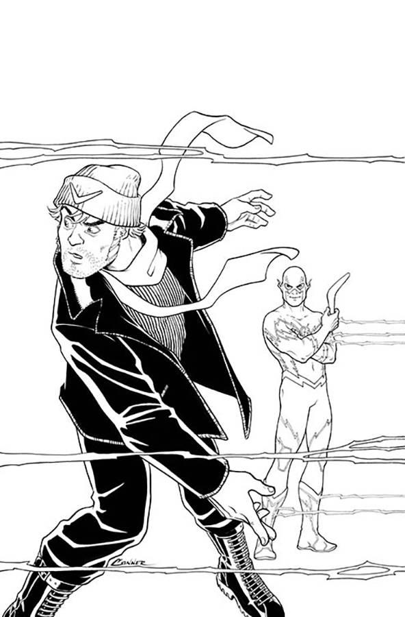 Justice League Vs Suicide Squad #4 (Cover B Amanda Conner)
