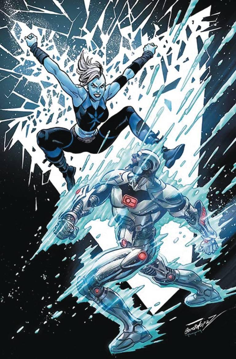 Justice League Vs Suicide Squad #6 (Cover C Jose Luis Garcia Lopez)