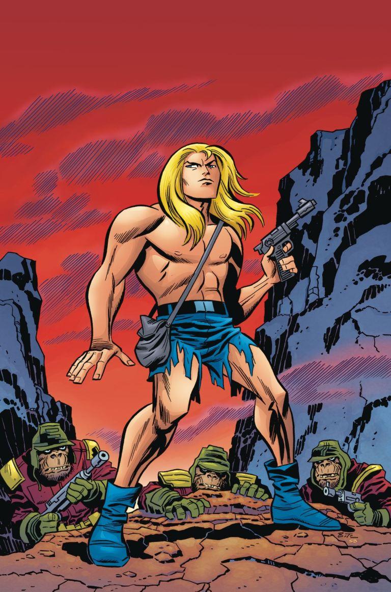 Kamandi Challenge #1 (Cover A Bruce Timm)