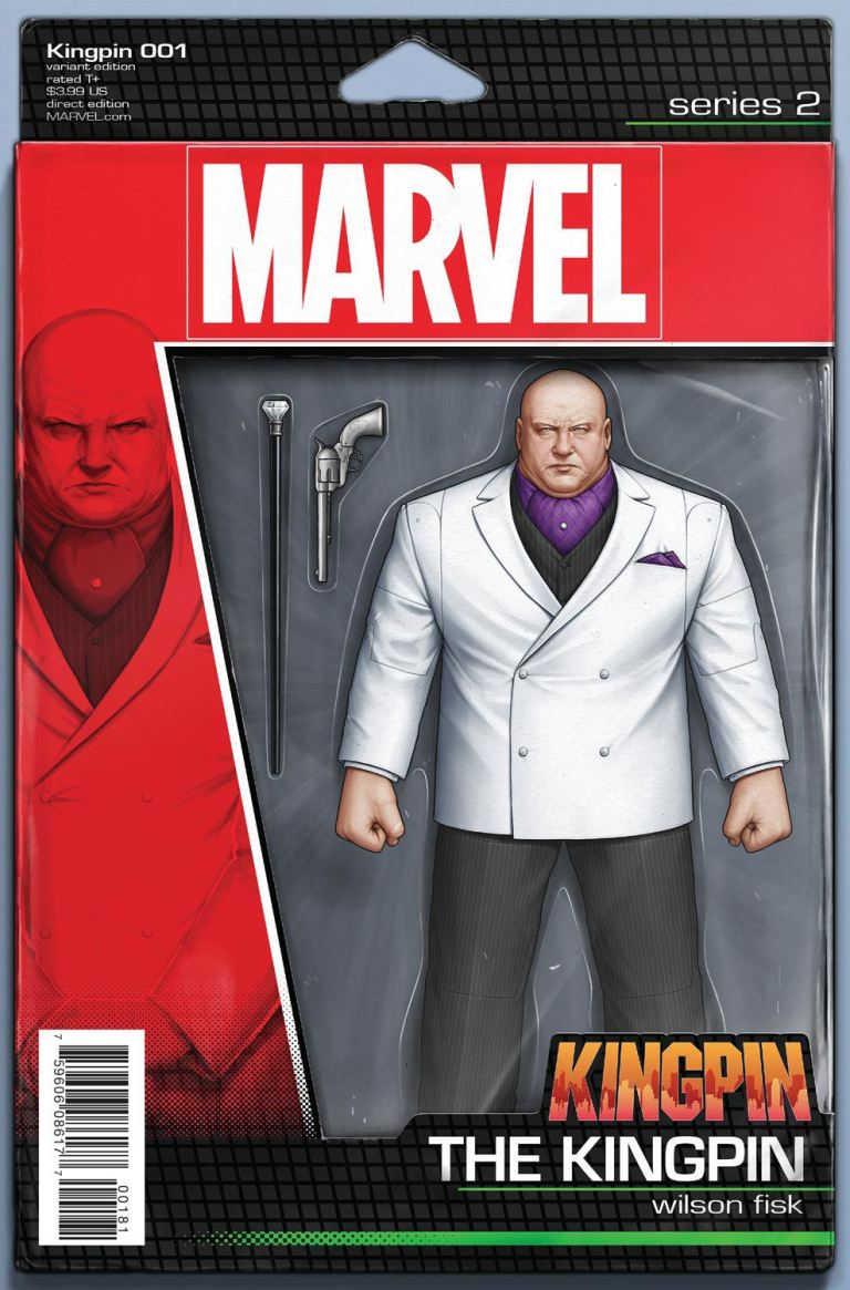 Kingpin #1 (John Tyler Christopher Action Figure Variant Cover)