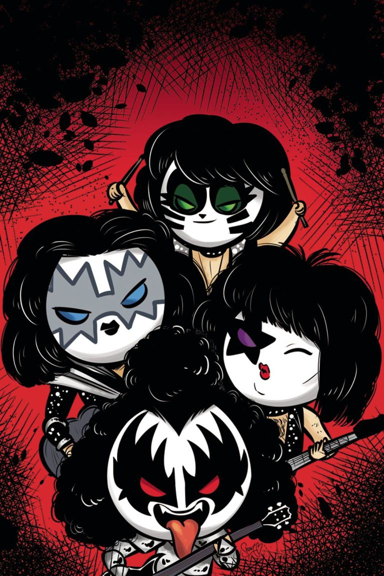 KISS #5 (Cover E Shouri Emoji Virgin Variant)